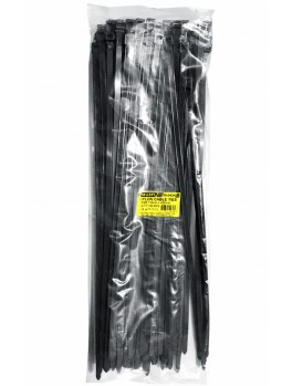 SELLERY 59-043 Nylon Cable Tie, Size: 7.6mm x 430mm (Black)