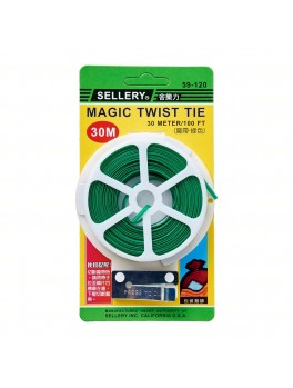 SELLERY 59-120 Magic Twist Tie 30 Meter