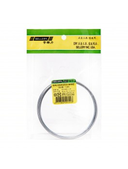 SELLERY 59-151 Galvanized Wire, Size: #16x390cm