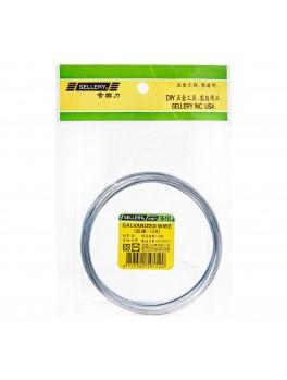 SELLERY 59-152 Galvanized Wire, Size: #18x585cm