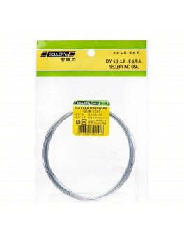 SELLERY 59-154 Galvanized Wire, Size: #22x830cm