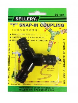 "SELLERY 60-101 ""Y"" Snap In Coupling"
