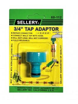 SELLERY 60-112 Tap Adaptor 3/4
