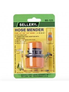 "SELLERY 60-123 Hose Mender (for 1/2"", 5/8"" & 3/4"" Hose)"