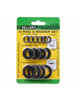 SELLERY 60-128 O Ring & Washer Set