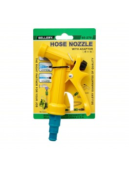 "SELLERY 60-270 Hose Nozzle, Length: 4.1/2"", O.D: 3/4"""