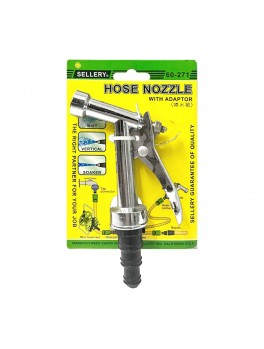 "SELLERY 60-271 Hose Nozzle, Length: 4.1/2"", O.D: 3/4"""