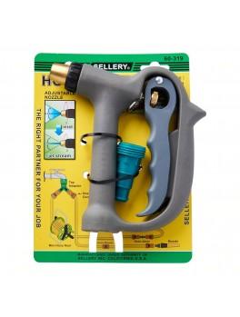 "SELLERY 60-319 Hose Nozzle w/ Plastic Hose Adaptor, Length: 6"", O.D: 3/4"""