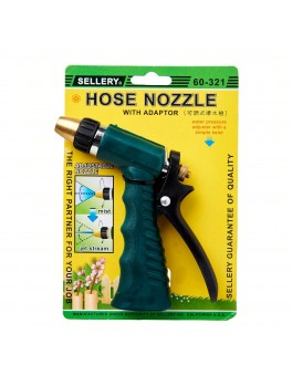 "SELLERY 60-321 Hose Nozzle, Length: 5.1/2"", O.D: 3/4"""