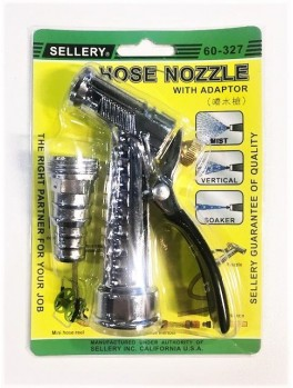 "SELLERY 60-327 Hose Nozzle, Length: 4.1/2"", O.D: 3/4"""