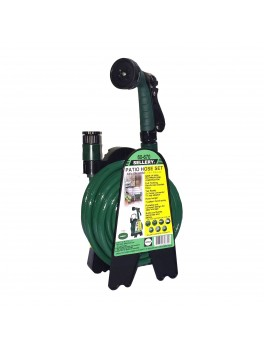 "SELLERY 60-670 Mini Hose Hanger Kit, 3/8""x10m Hose + 7 Pattern Spray Gun"