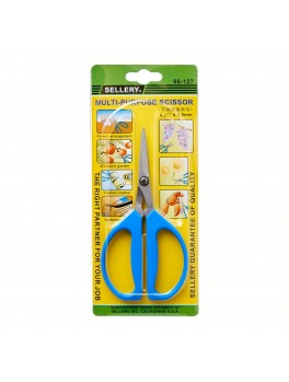 "SELLERY 66-127 Multi Purpose Scissors, 6.25""x2.5mm"