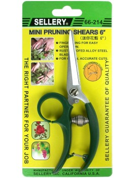 SELLERY 66-214 Mini Pruning Shears 6""