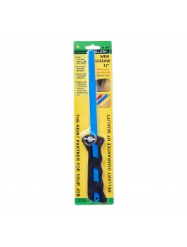 "SELLERY 81-807 Mini Hacksaw w/ 2pcs Saws, Size:12""x1/2"""