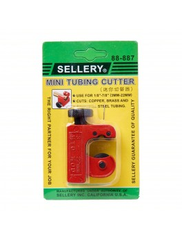 "SELLERY 88-887 Mini Tubing Cutter, Cutting Capacity: 1/8"" - 7/8"""