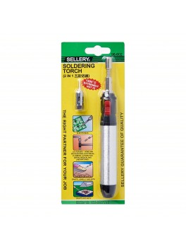 "SELLERY 96-602 3pc Butane Solder Iron & Torch,  Length: 7.1/2"" (Refillable)"