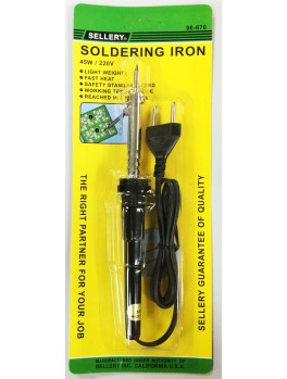 SELLERY 96-670 Soldering Iron, 45w / 220v (with Safety Stand)