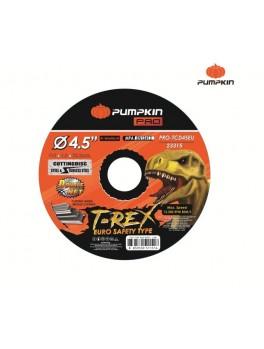 "PUMPKIN 23315 Flat Cut-Off Wheel 4.5""x1x22 (Suitable for Steel & Stainelss Steel)"