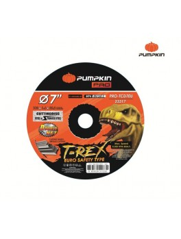 "PUMPKIN 23317 Flat Cut-Off Wheel 7""x1.6x22"