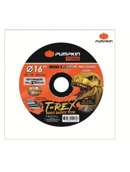 "PUMPKIN 23320 Flat Cut-Off Wheel 16""x3x25.4"