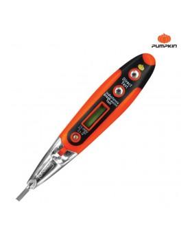 PUMPKIN 17744 Digital Voltage Tester W/Led Flash Light