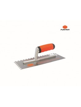 PUMPKIN 28103 Carbon Steel Plastering Trowel W/Teeth 280x110mm