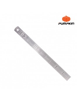 PUMPKIN 29411 Straight Steel Ruler 300x25x0.8mm