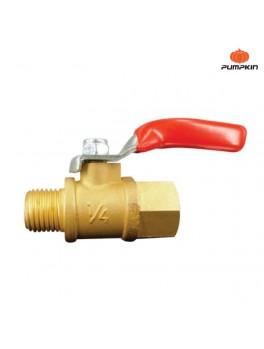 PUMPKIN 31375 Brass Ball Valve 1/4'' PTT-MF