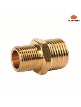 PUMPKIN 31457 Brass M Connector 3/8x3/8