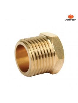 PUMPKIN 31472 Brass Adapting Connector 3/4M-1/2F