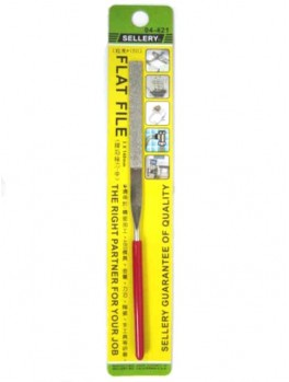SELLERY 04-421 Flat File, Size: 3x140mm