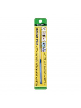 SELLERY 04-423 Round File, Size: 3x140mm