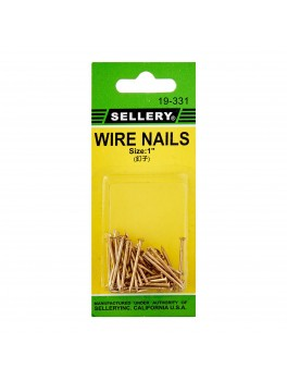 "SELLERY 19-331 Wire Nails, 1"" (45pc/set)"