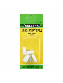 SELLERY 19-340 Upholstery Nails, 18mm (4pc/set)
