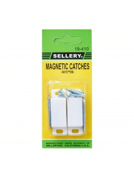 SELLERY 19-410 Magnetic Catches - White (2pc/set)