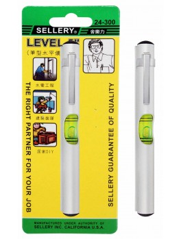 SELLERY 24-300 Pocket Level, Size: 125mm