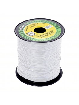 SELLERY 59-135 (White) Magic Twist Tie, 2.8mmx500yard