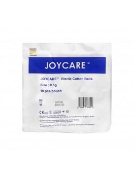 JOYCARE Cotton Balls 0.5g, Sterile, 10's