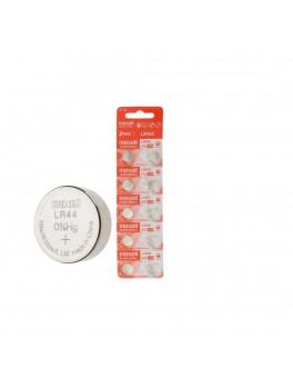 MAXELL LR44 Alkaline (A76) 1.5V Battery, 2-Pack (CARD-5PACKS)