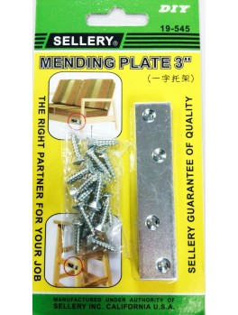 "SELLERY 19-545 Mending Plate 3"" (4pc/set)"