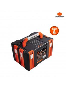 PUMPKIN 20841 Plastic Tool Box Metal Buckle 17