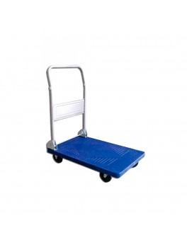 APEX Small Foldable PVC Plastic Platform Trolley, Capacity: 100KG - Size: 705x452x833mm