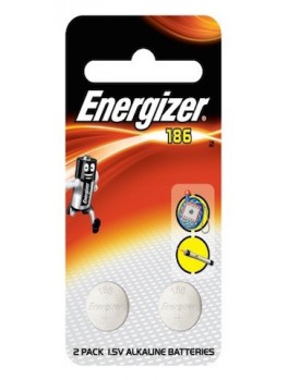 ENERGIZER 186 BP2 Miniature Alkaline Battery, Size:1.5V (2pcs/card)
