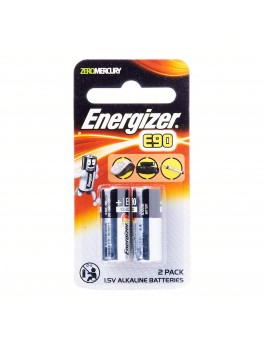ENERGIZER E90 BP2 Miniature Alkaline Battery, Size:N (2pcs/card)