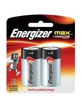 ENERGIZER E93 BP2 Alkaline Battery MAX, Size:C (2pcs/card)