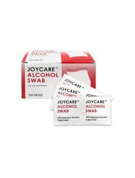 JOYCARE Alcohol Swab, 2-Ply, Sterile, 100pcs/BOX
