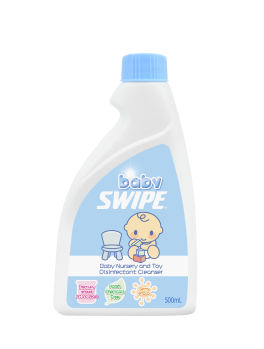 BABY SWIPE 6153 Baby Nursery and Toy Disinfectant Cleanser (refill) 500ml**