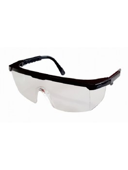 ANDER 30010 Clear Safety Eyewear - Black Frame