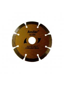 ANDER 3202 Dry Diamond Blade - 4'' (Yellow)