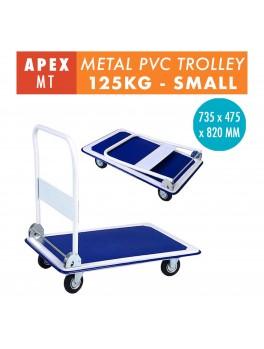 APEX Foldable Metal Trolley- 125KG (Blue)